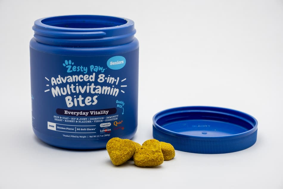 Multivitamins for a senior dog
